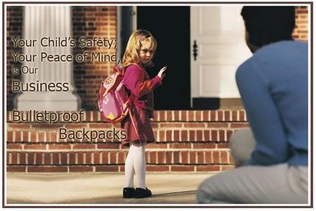 Seguridad antibalas escuela