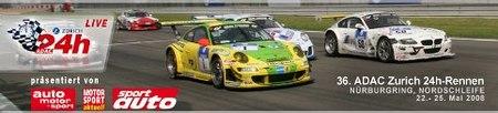 Las 24 horas de Nürburgring en directo por internet