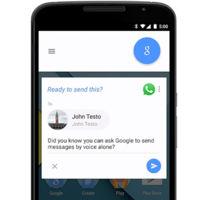 """""""Ok Google"""" ahora permite enviar mensajes por WhatsApp, Viber y más"""