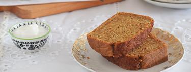 Bizcocho de zanahoria y yogur: receta para variar el clásico de nuestra repostería