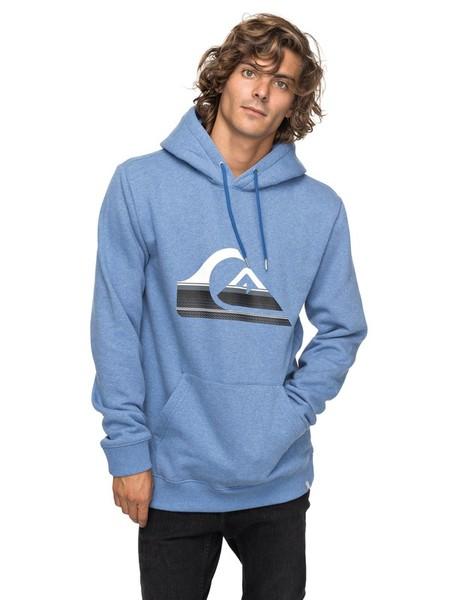 40% de descuento en la sudadera con capucha en azul Big Logo de Quiksilver: puede ser nuestra por 33,59 euros con envío gratis