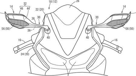 La Honda CBR1000RR Fireblade 2020 podría tener alerones... ¡en los retrovisores!