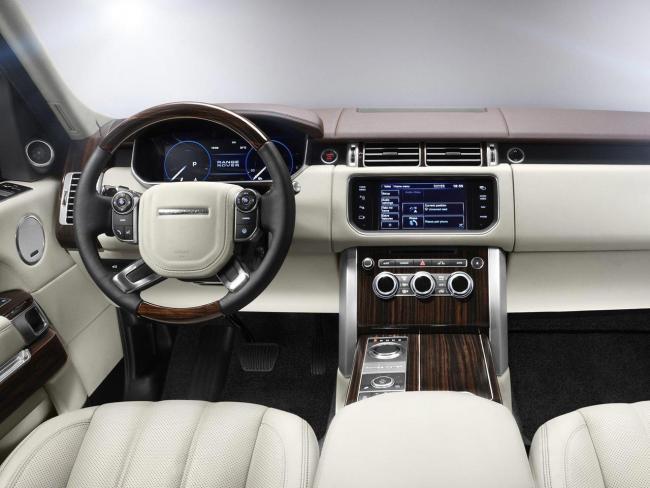 Range Rover 2013 interior