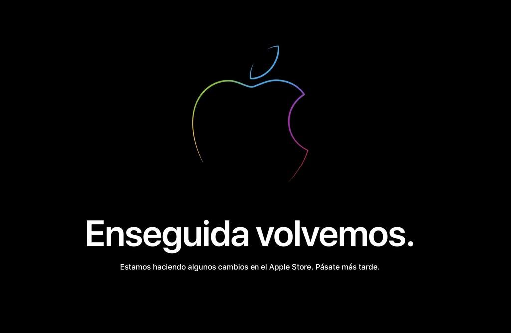 """""""Enseguida volvemos"""": la Apple Store online ha cerrado temporalmente y pronto tendremos novedades"""