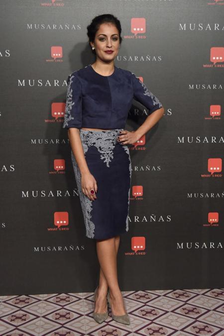 Hiba Abouk en el estreno de Musarañas