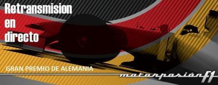 GP de Alemania F1 2011: retransmisión LIVE