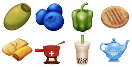 Las aceitunas llegan al Whatsapp: estos son los 8 nuevos emojis de comida de 2020