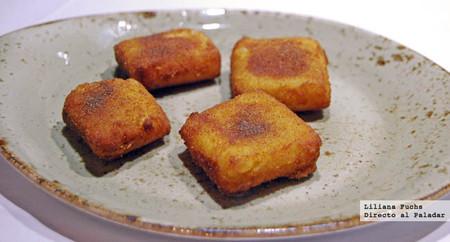 Restaurante Casa Pedro. Leche frita