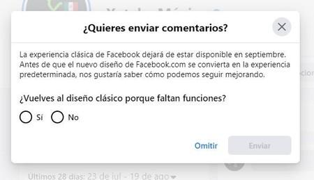 Facebook Aviso Cambio Nuevo Diseno Mexico Septiembre