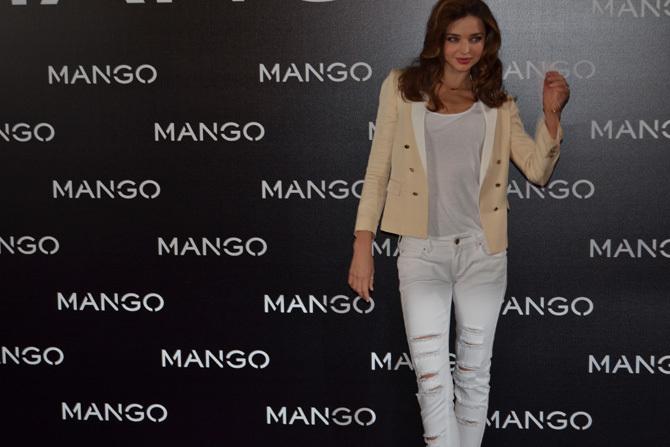 Foto de Miranda Kerr para Mango, rueda de prensa (1/16)