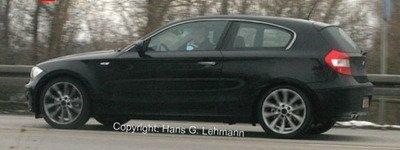 Foto espía del BMW Serie 1 en 3 puertas