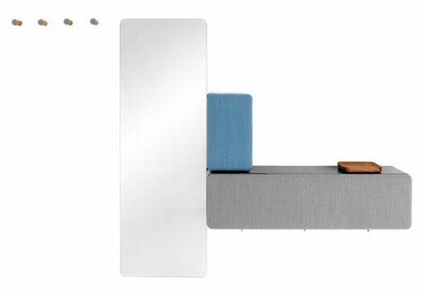 Foto de Un armario configurado por módulos (3/4)