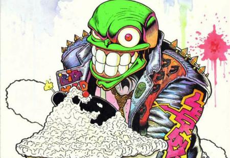 La mascara comic