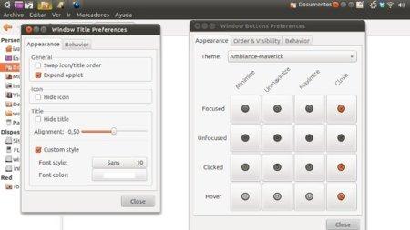 Window applets: oculta en Gnome la barra de título de las ventanas