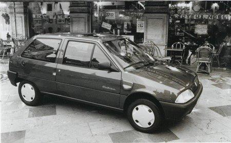 Citroën AX y Peugeot 106 électrique