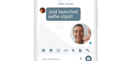 Cómo enviar los nuevos selfie clips de Google Allo