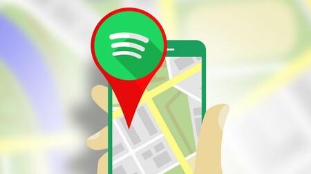 Maps Spotify