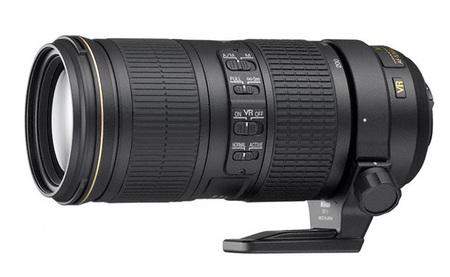Nikon presenta un teleobjetivo 70-200mm f/4G ED VR con 5 pasos de estabilización óptica