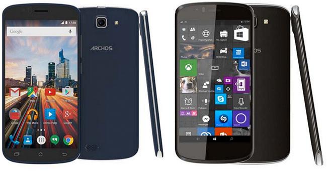 Archos 50e Helium 50 Celsium Android Win10