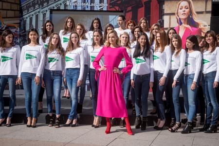 Valentina Zelyaeva da la bienvenida a la primavera de El Corte Inglés