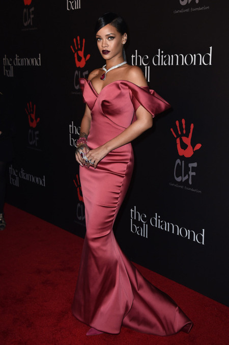 Rihanna Annual Diamond Ball 2014
