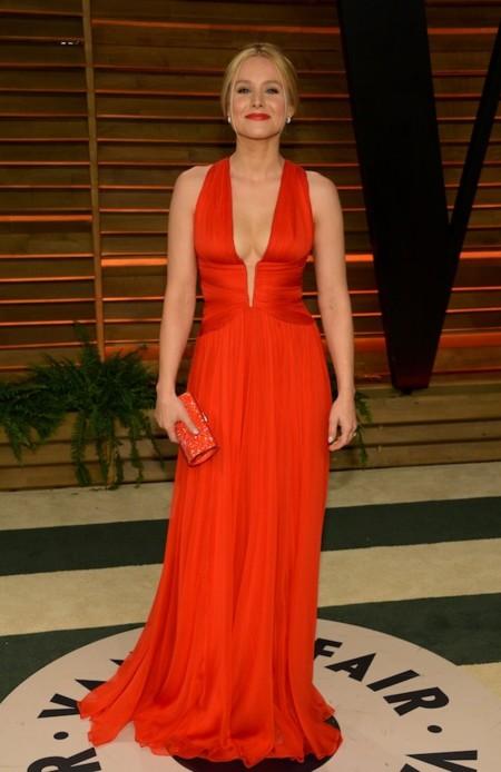 Kristen Bell oscar 2014 look Vanity fair