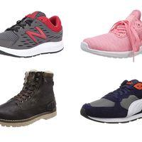 Chollos en tallas sueltas de zapatillas y botas New Balance, Puma o Mustang por menos de 30 euros en Amazon