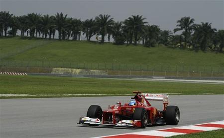 Fernando Alonso saldrá noveno en el GP de Malasia