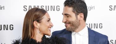 Paula Echevarría y Miguel Ángel Silvestre, una pareja con mucho estilo en la presentación del Smartwatch de Samsung