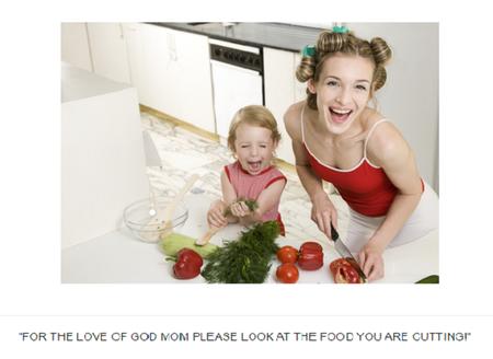 Feliz en la cocina