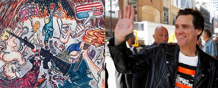 A Jim Carrey le da igual perder seguidores: continuará atacando a Donald Trump con sus pinturas