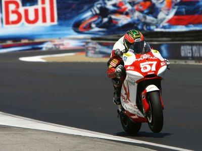 Chaz Davies volverá a probar la Ducati de MotoGP en 2017