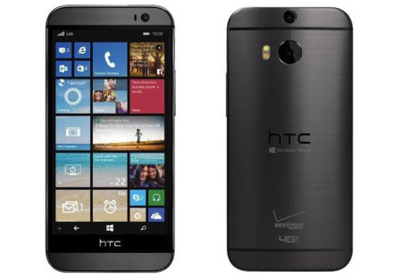 HTC One M8 con Windows Phone