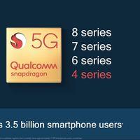 El 5G de Qualcomm llegará a los móviles baratos con los nuevos Snapdragon 400 en 2021