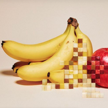 Fascinantes obras de arte creadas con comida