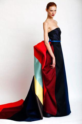 Los maravillosos vestidos de Carolina Herrera para el Invierno 2010