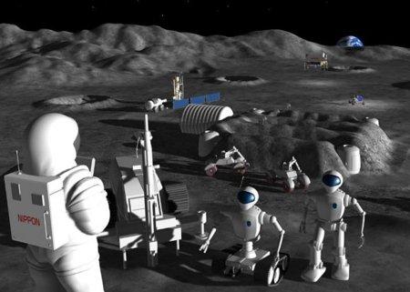 Un robot en la luna: imagen de la semana