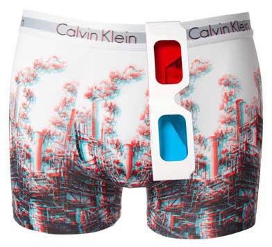 Calvin Klein 3D, posiblemente los calzoncillos más feos del mundo