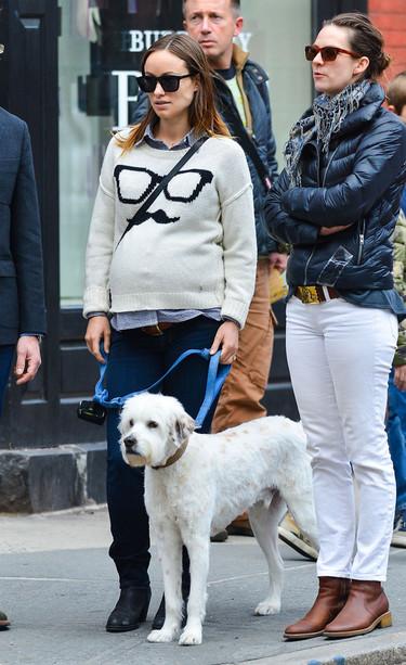 Olivia Wilde, una embarazo cómodo y con estilo