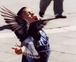 """Un niño ruso aprende el """"idioma"""" de las aves"""