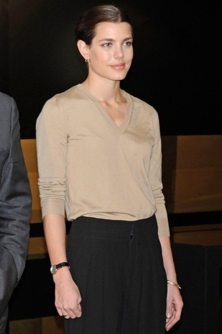 """Carlota Casiraghi en la inauguración de """"El arte de Cartier"""" en el museo Thyssen"""