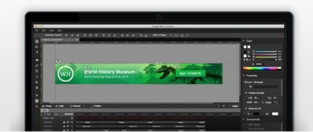 Google Web Designer, animaciones HTML5
