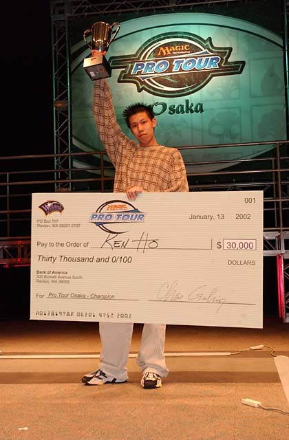 Ken Ho, campeón del Pro Tour Osaka 2002