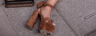 Cinco maneras de combinar unas sandalias de plataforma