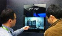 Samsung va a llevar a producción una pantalla transparente de 22 pulgadas
