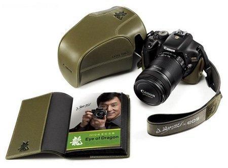 Cámara Canon EOS 550D Jackie Chan Ojo de Dragón
