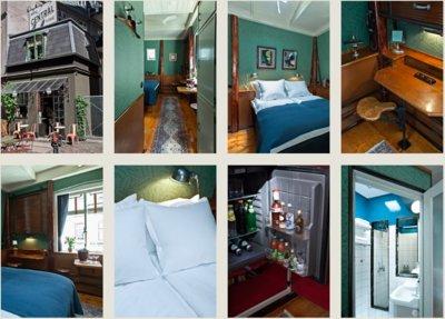 Un hotel para ti solo en Copenhague: el hotel más pequeño del mundo