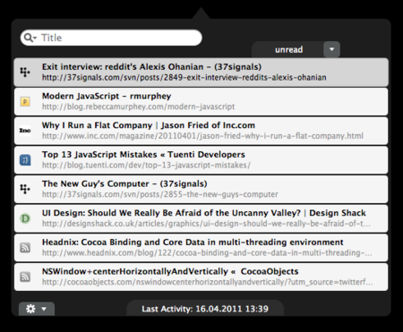 ReadNow, un cliente de Instapaper y Read It Later para OS X