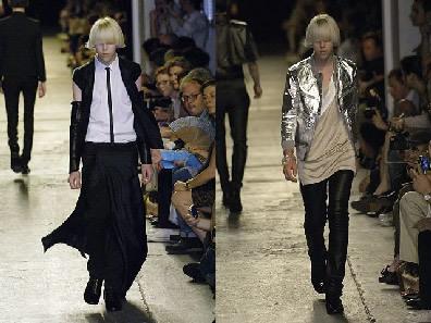 Dior Homme en Paris Fashion Week