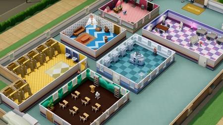 Two Point Hospital ya permite personalizar y diseñar los interiores de los hospitales con su nueva actualización gratuita